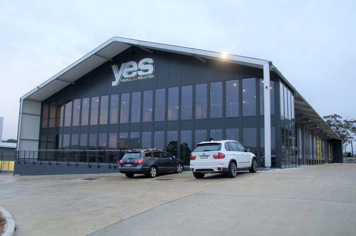 Wielopoziomowa konstrukcja tymczasowa Yes