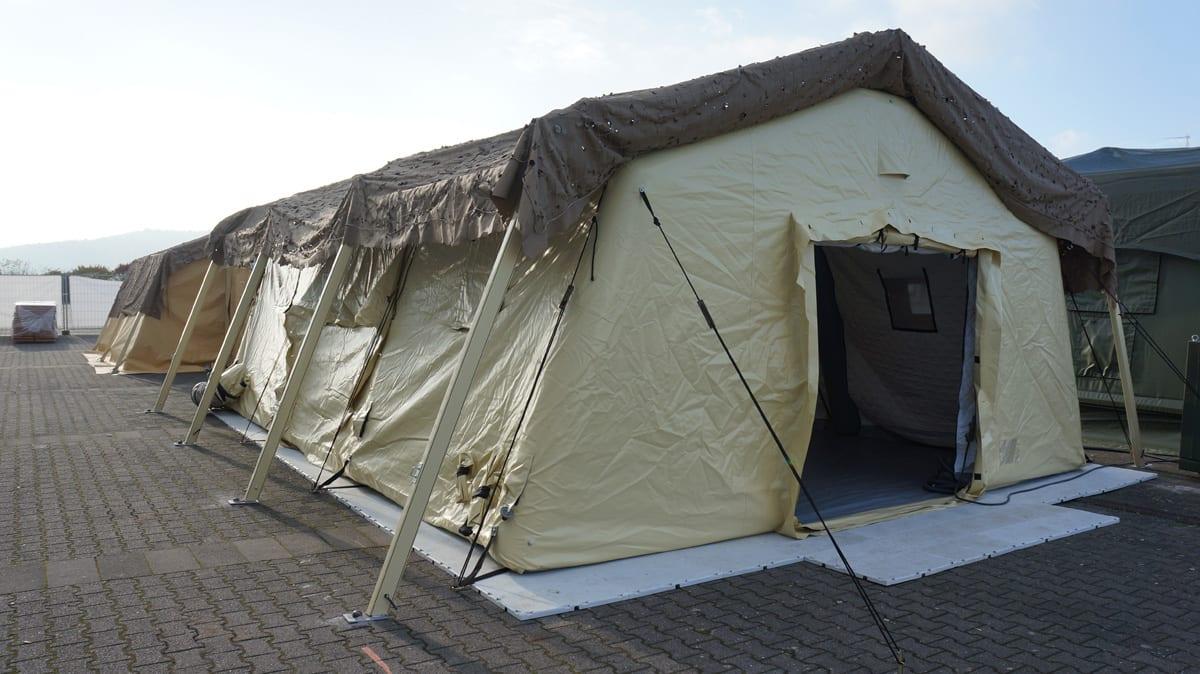 Namiot wojskowy RDS