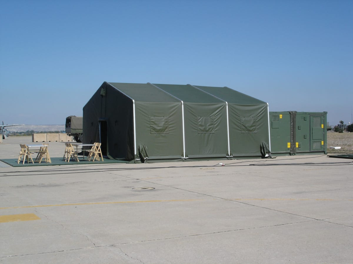 Hala namiotowa wojskowa